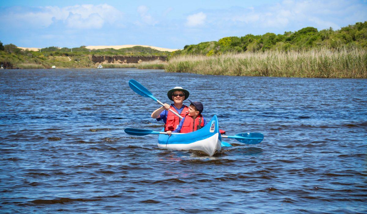 Canoe Hire Canoe Trail Nukakamma near Addo Sundays River Port Elizabeth